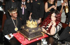 Fabolous' Private Birthday Dinner with Emily B