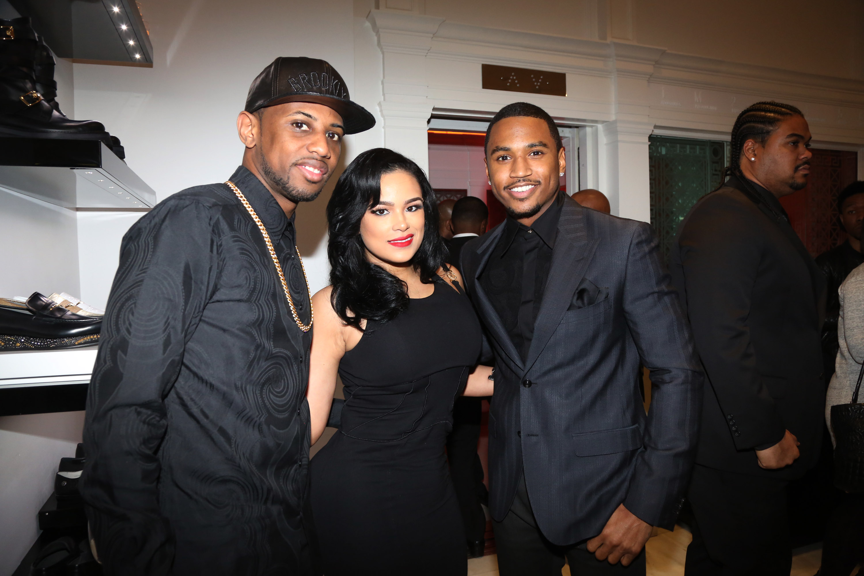 Versace & Trey Songz Honor Angels With Hearts Month