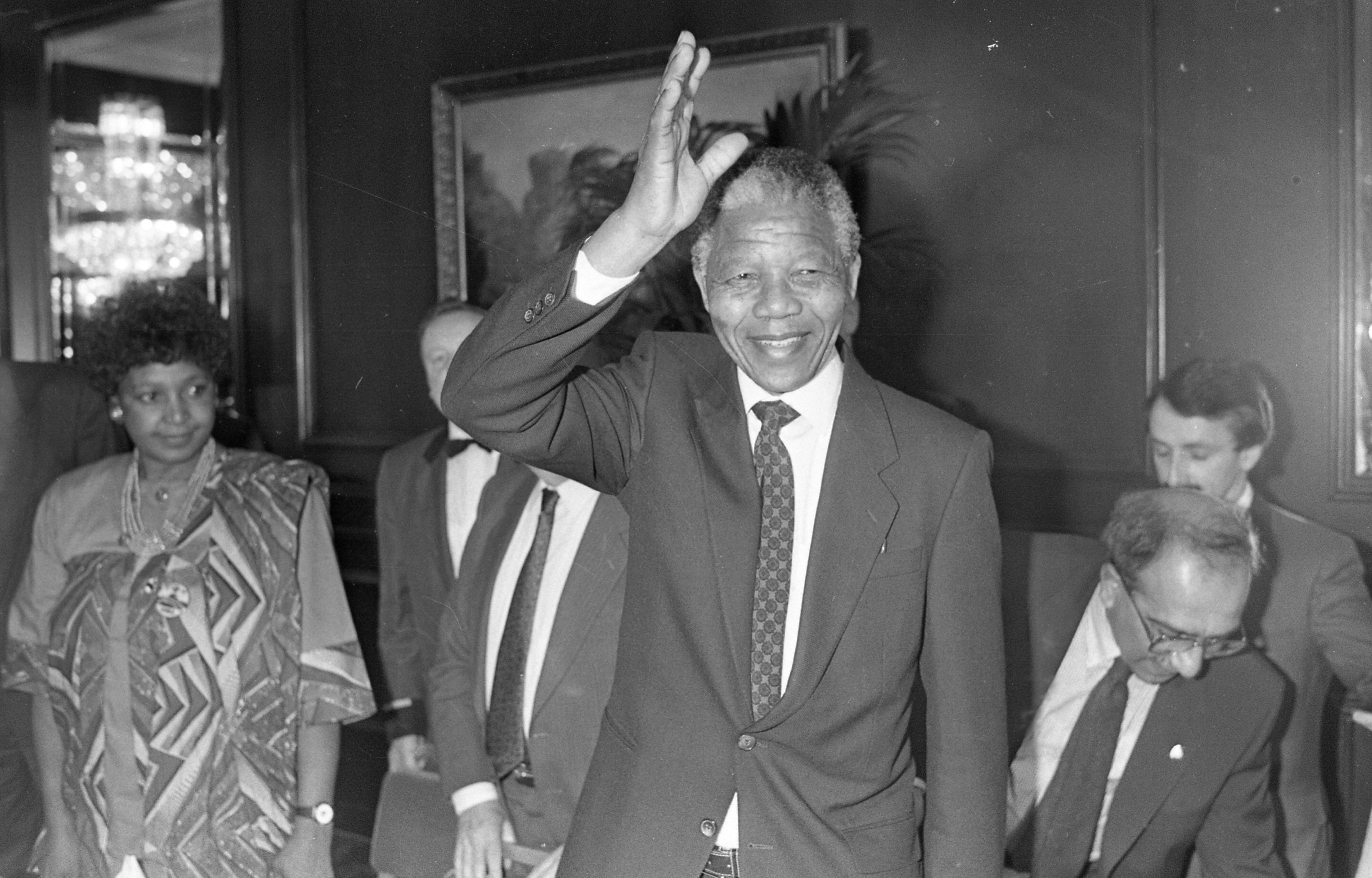 Nelson Mandela's visit to Ireland 1990