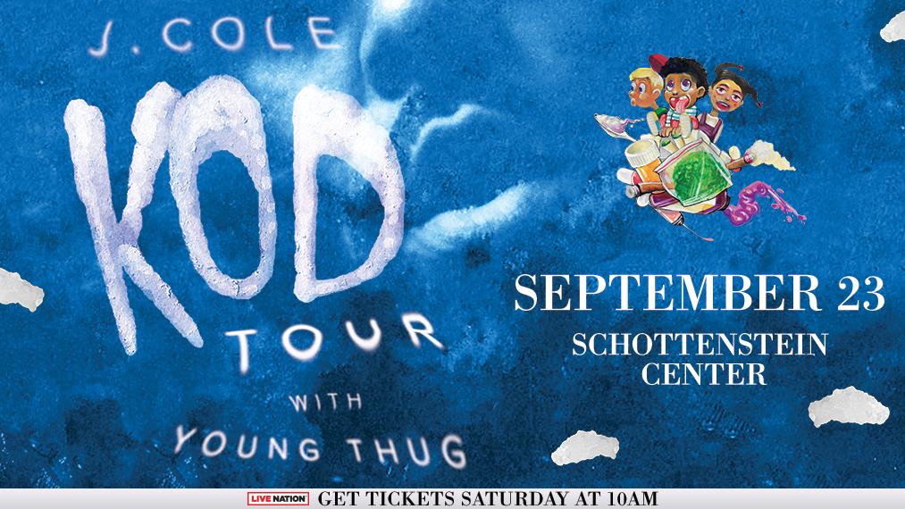 J.Cole KOD Tour - Columbus