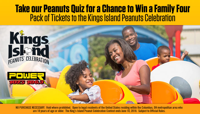 Kings Island Peanuts Celebration