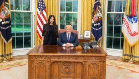 Kim Kardashian & Donald Trump