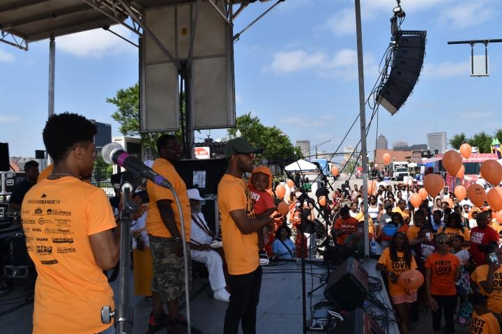 #WearOrange614 Rally