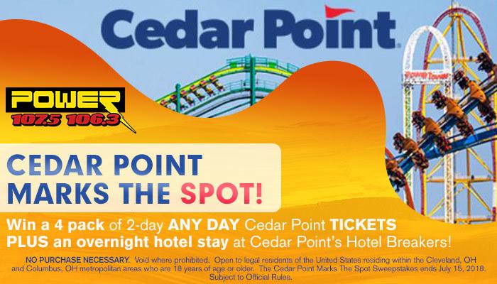 Cedar point contest