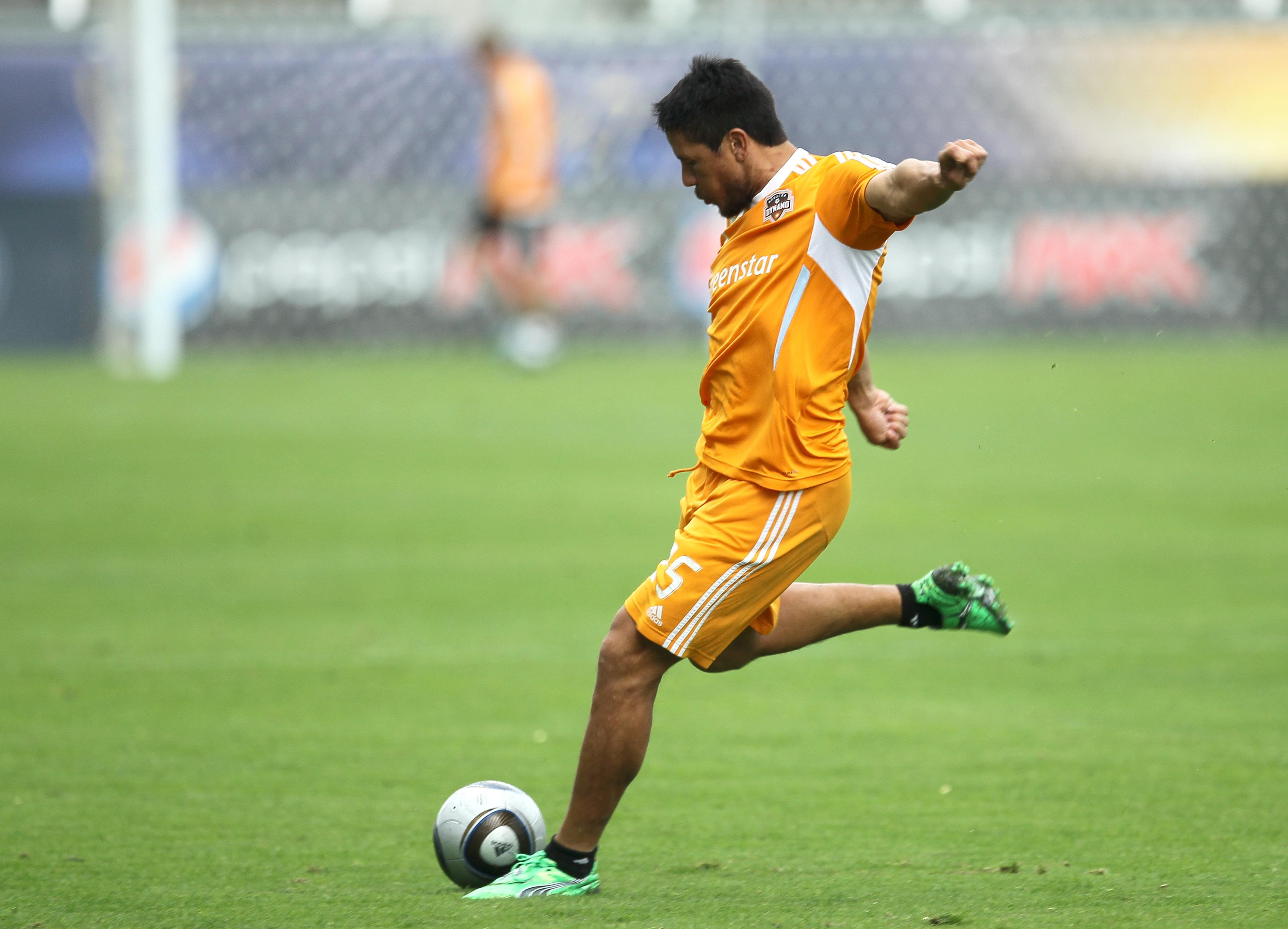 2011 MLS Cup - Houston Dynamo Training Session