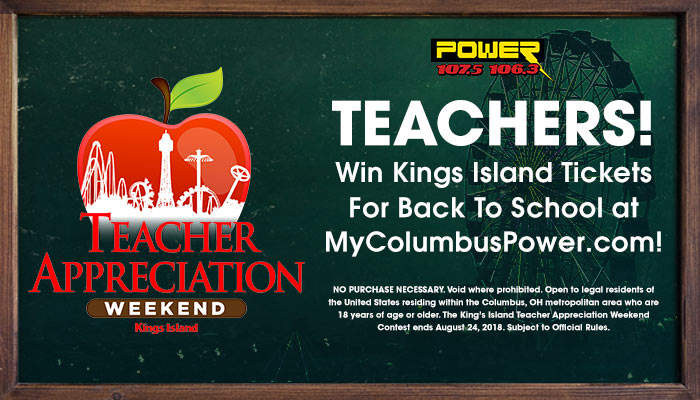 King's Island Teacher Appreciation Contest