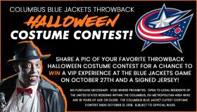 Columbus Blue Jackets Halloween Contest
