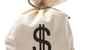 Bag of U.S. Cash Money