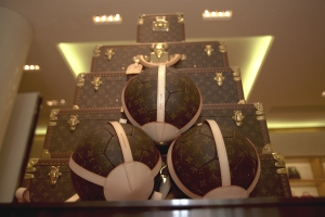LOUIS VUITTON CREATES A WORLD CUP FOOTBALL