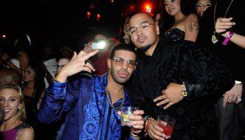 Drake Celebrates His 25th Birthday At TAO With Martini Moscato d'Asti