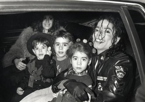 Michael Jackson and Children