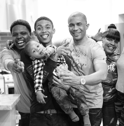 Amir Diamond w/ Family