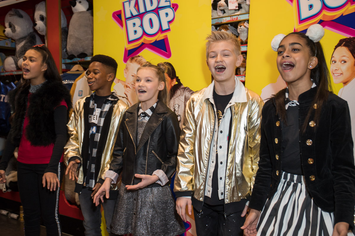 Launch party for the brand new KIDZ BOP album