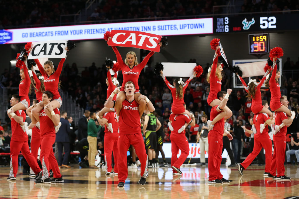 COLLEGE BASKETBALL: JAN 15 USF at Cincinnati
