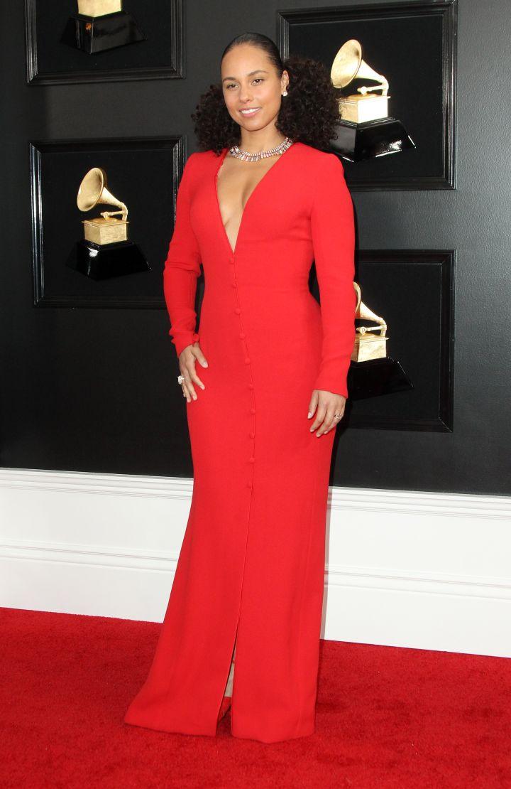 Alicia Keys 61st Annual GRAMMY Awards
