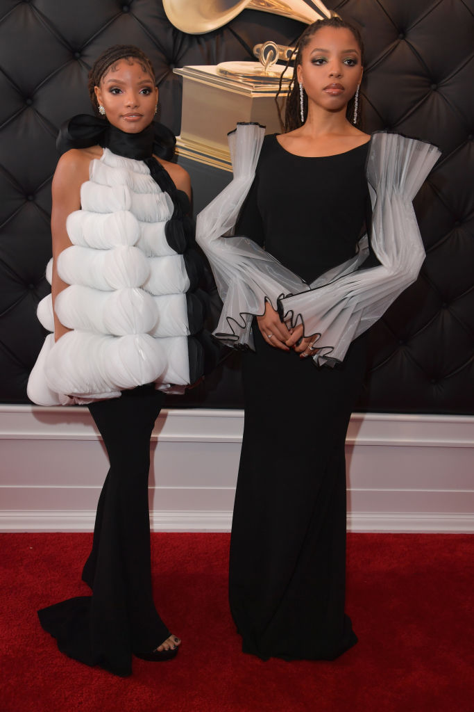 Halle X Chloe at 61st Annual GRAMMY Awards