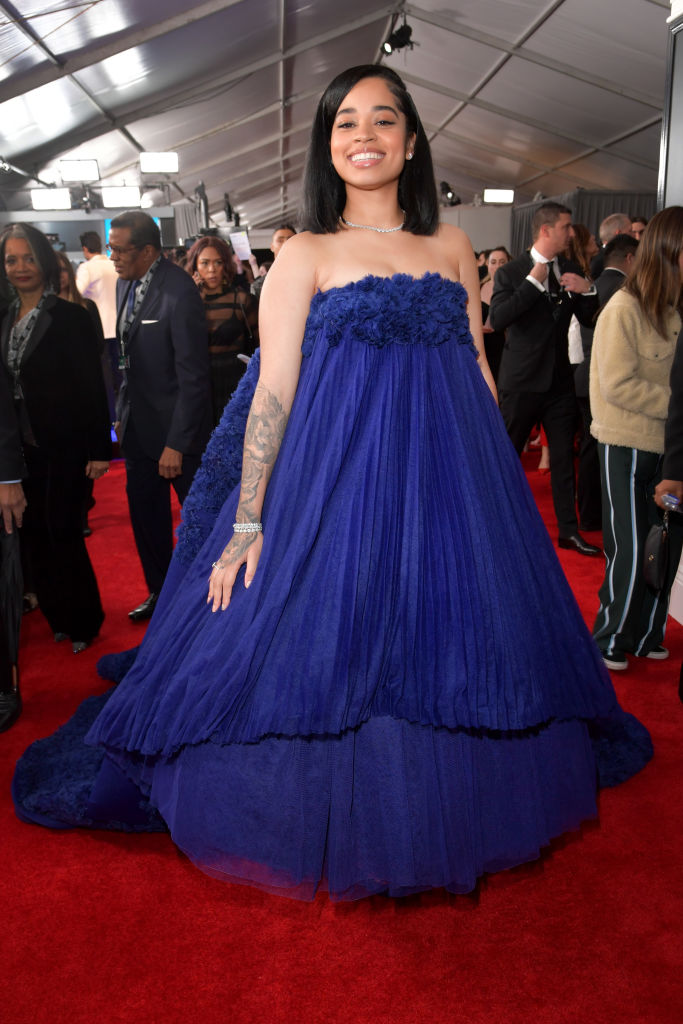 Ella Mai at 61st Annual GRAMMY Awards