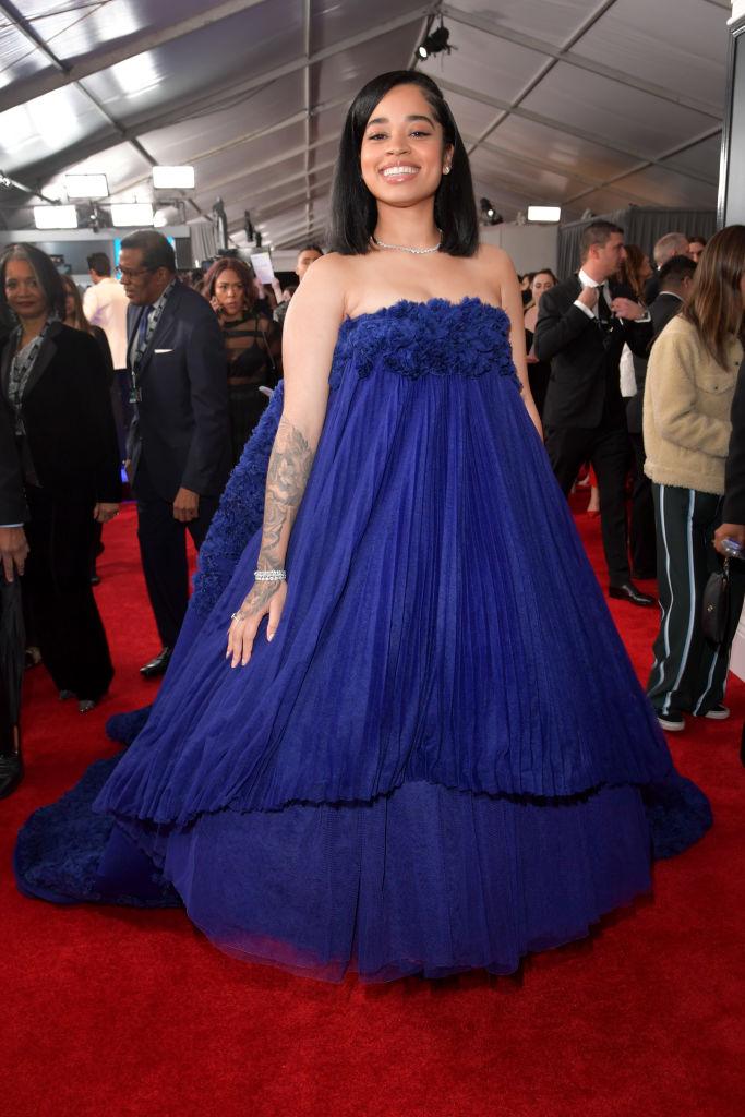 Ella Mai at 61st Annual GRAMMY Awards