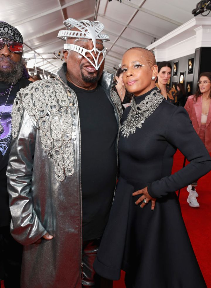 George Clinton at 61st Annual GRAMMY Awards