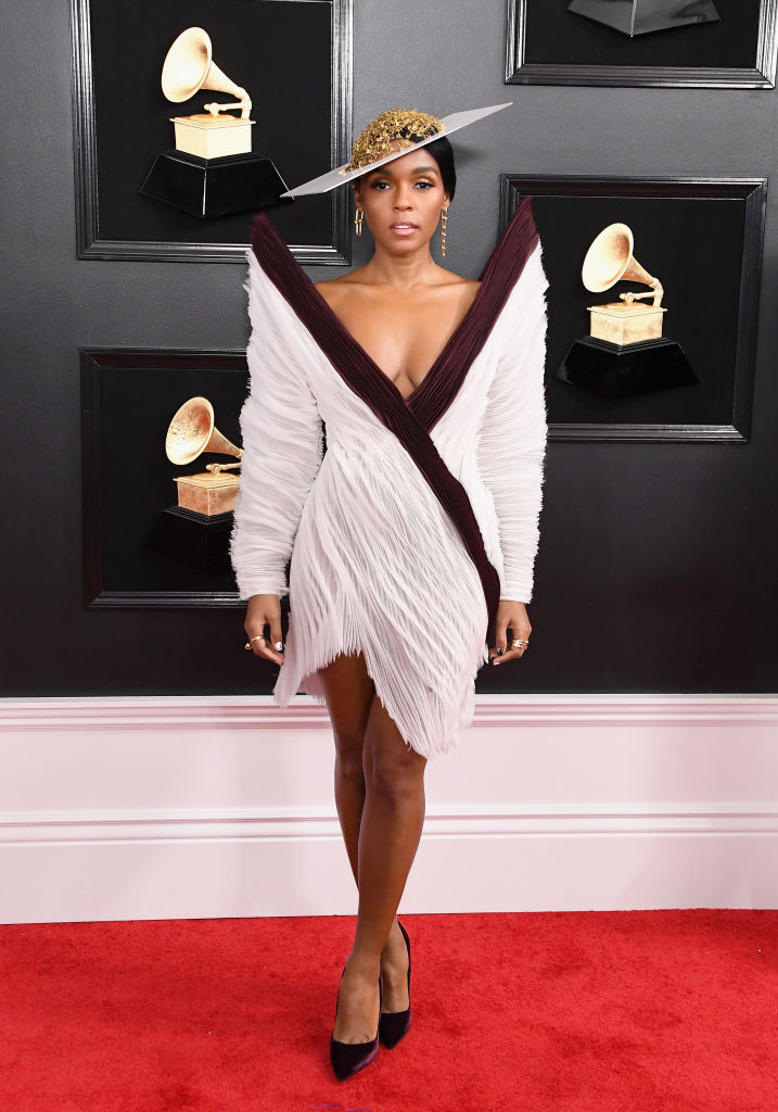Janelle Monáe at 61st Annual GRAMMY Awards