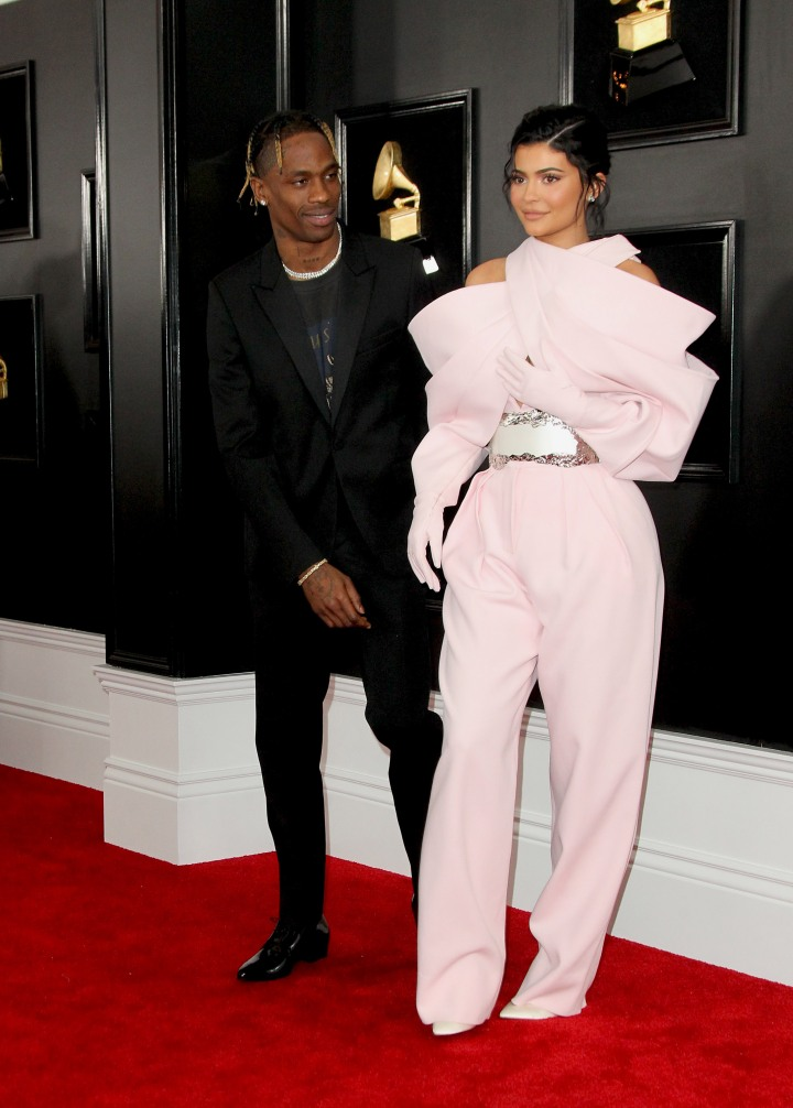 Travis Scott and Kylie Jenner Grammy Awards 2019 Arrivals