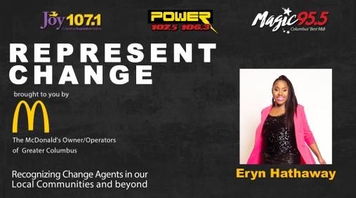 Future History Makers Representing Change Columbus Eryn Hathaway