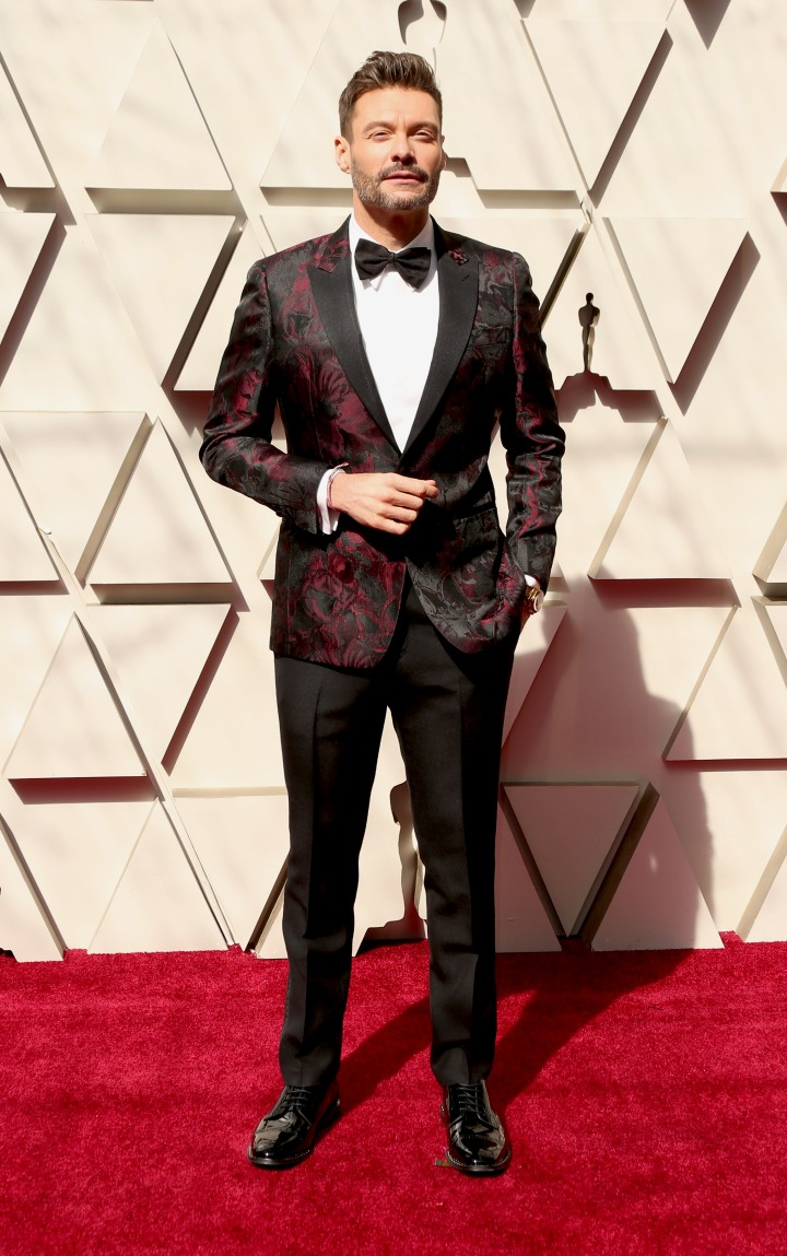 Ryan Seacrest: The Top 11 Men Looking Like a Snack at the 2019 Oscars