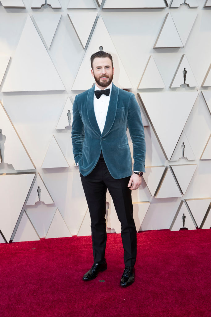 Chris Evans: The Top 11 Men Looking Like a Snack at the 2019 Oscars