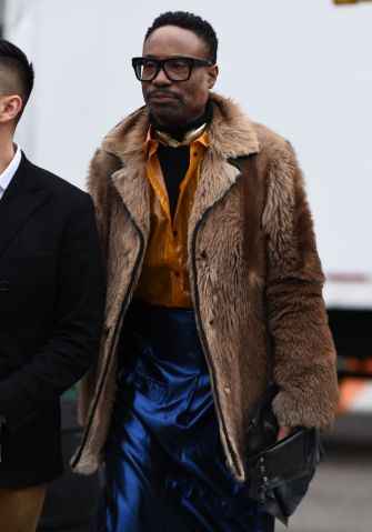 Street Style - New York Fashion Week February 2019 - Day 1