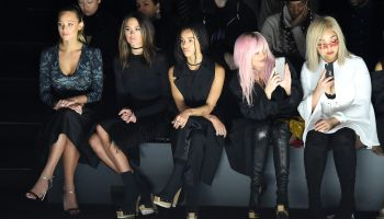 Vera Wang Collection - Front Row - Fall 2016 New York Fashion Week: The Shows
