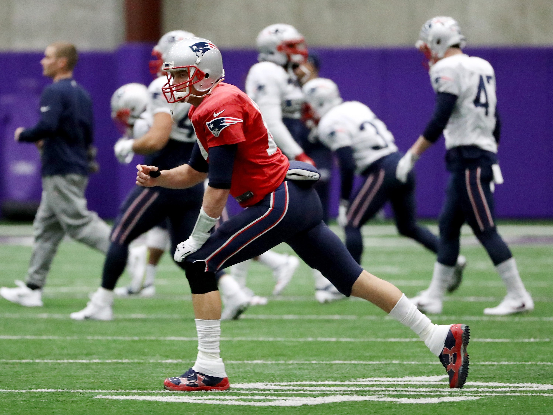 Super Bowl LII - New England Patriots - Practice