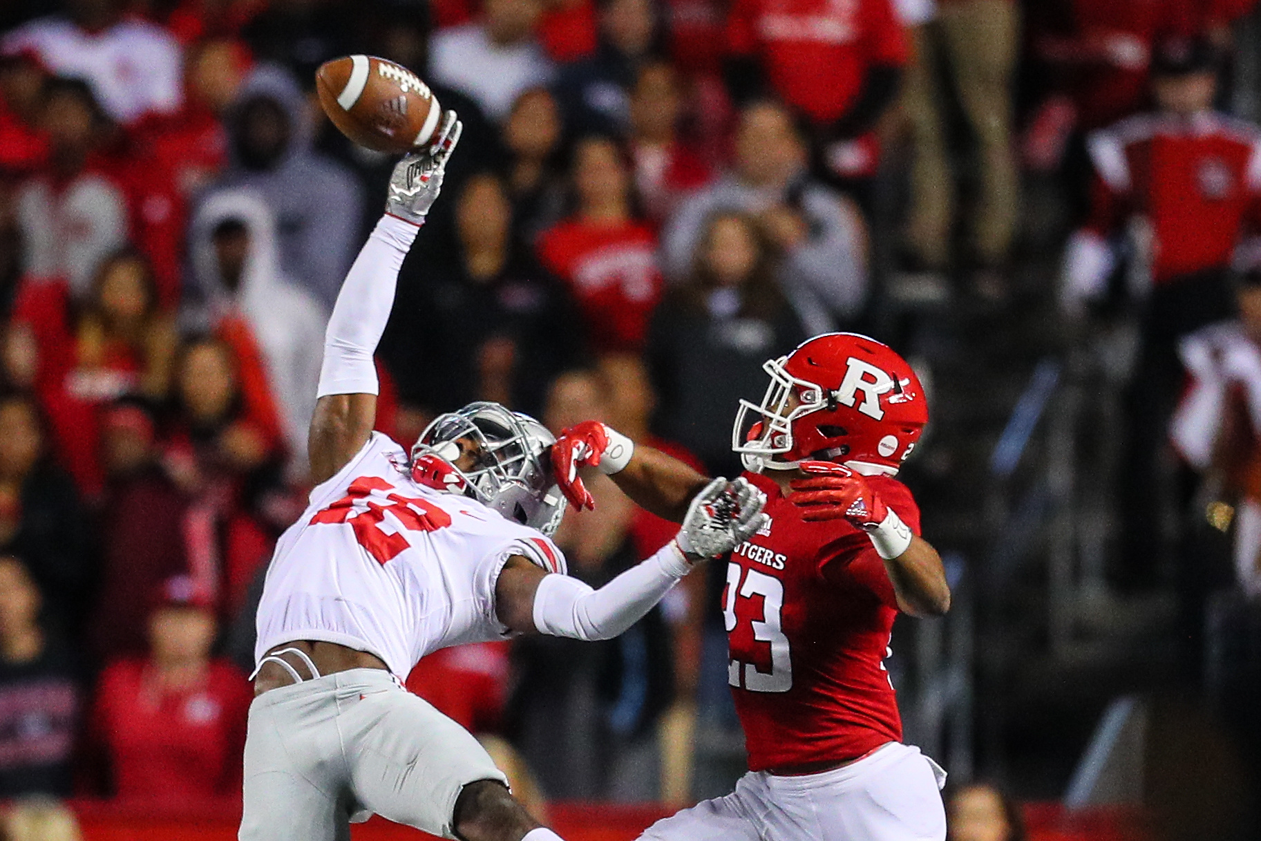 COLLEGE FOOTBALL: SEP 30 Ohio State at Rutgers