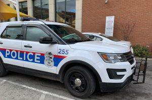 Columbus Police Car