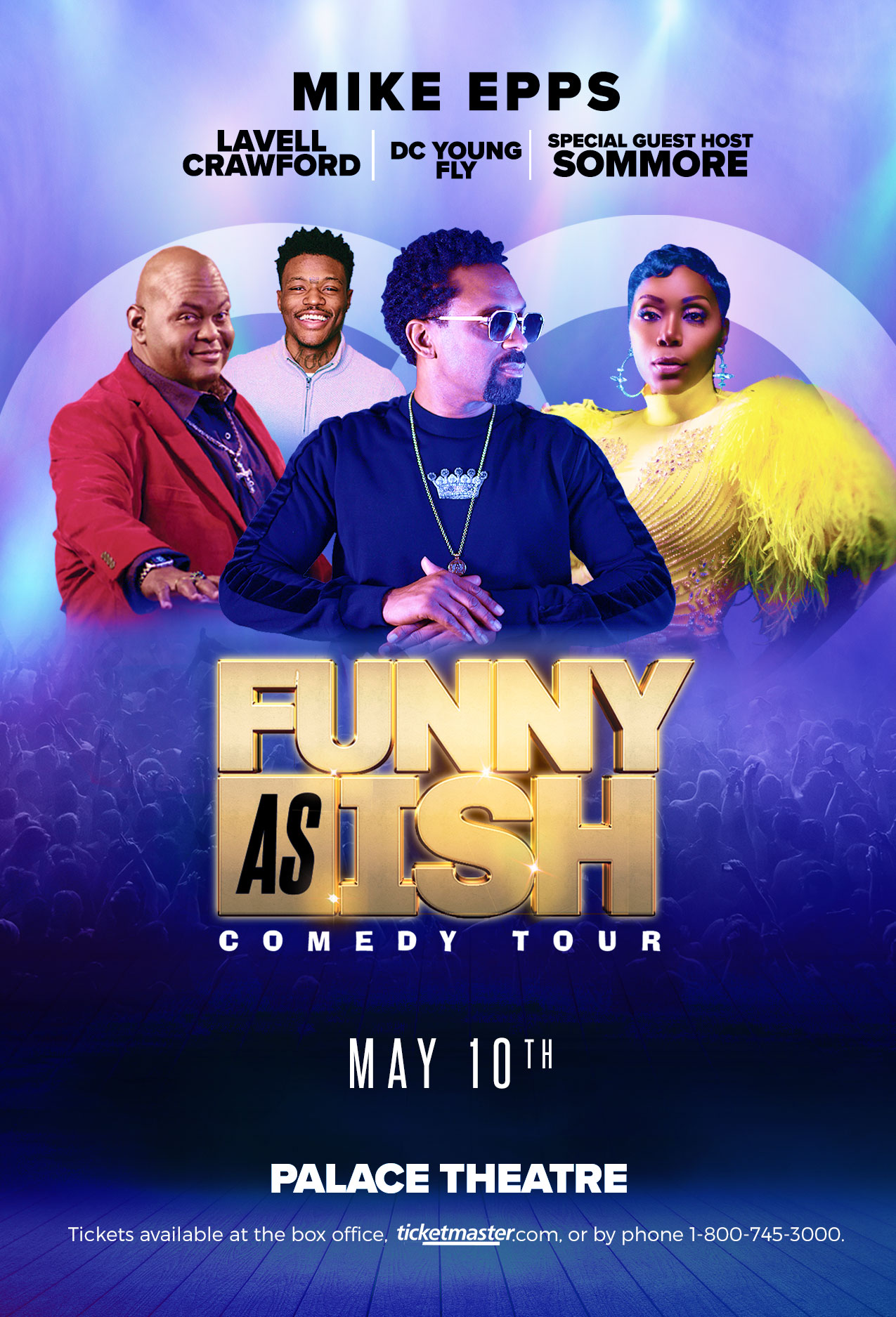 Funny As Ish Tour