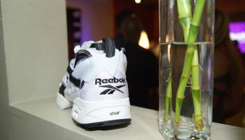 Headkrack & Beyonce Alowishus Attend Reebok Classics #ThisIsClassic Event In Atlanta