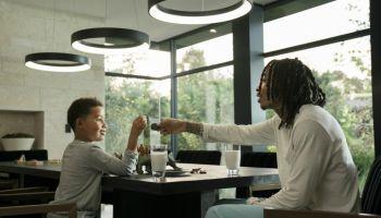 Wiz Khalifa aka Cameron Thomaz and son Sebastian Taylor Thomaz