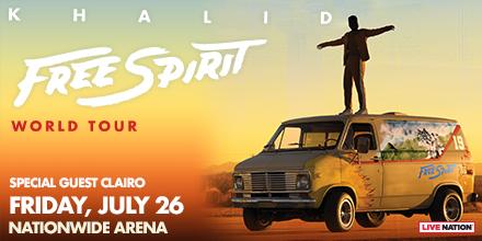 Khalid Free Spirit World Tour Columbus