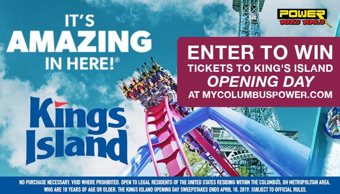 King's Island Opening Day_RD Columbus WCKX_April 2019