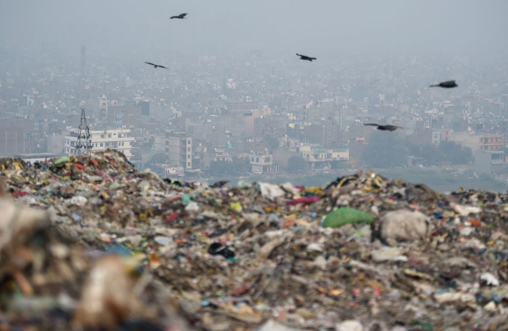 INDIA-ENVIRONMENT-CITY-WASTE
