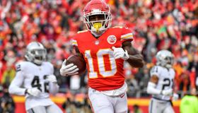Andy Reid as Tyreek Hill joins Chiefs for offseason workouts