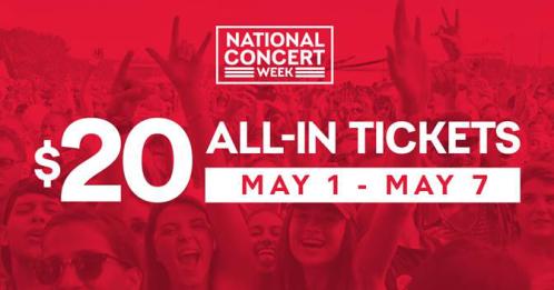 National Concert Week - Live Nation