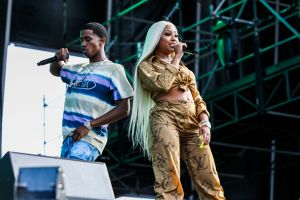 Christian King Combs and Yung Miami of City Girls Rolling Loud Miami