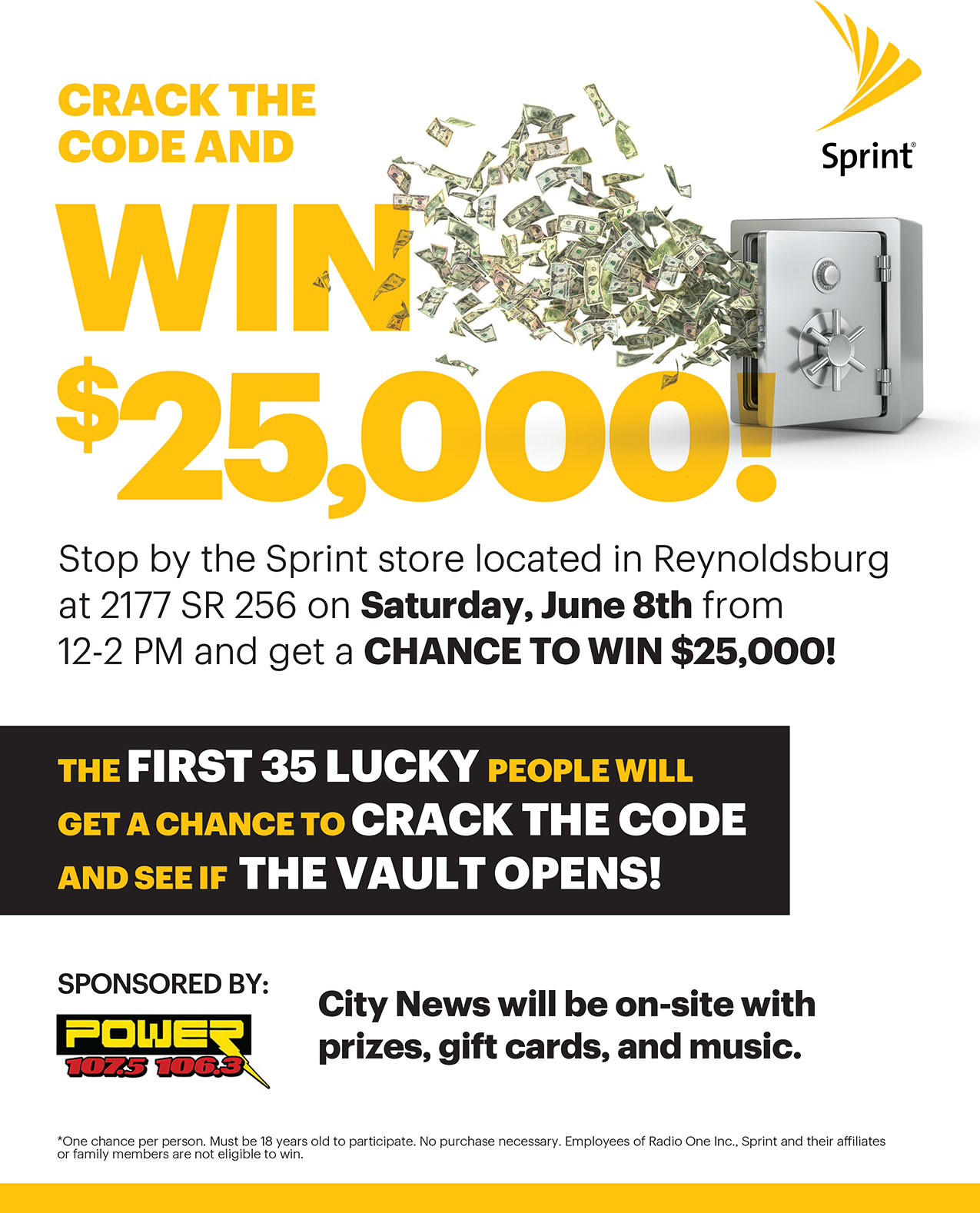 Sprint Crack The Code and Win