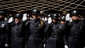 NYPD Graduation Ceremony Held At Madison Square Garden