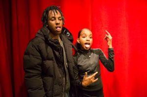 Rich The Kid With Little Bacon Bear