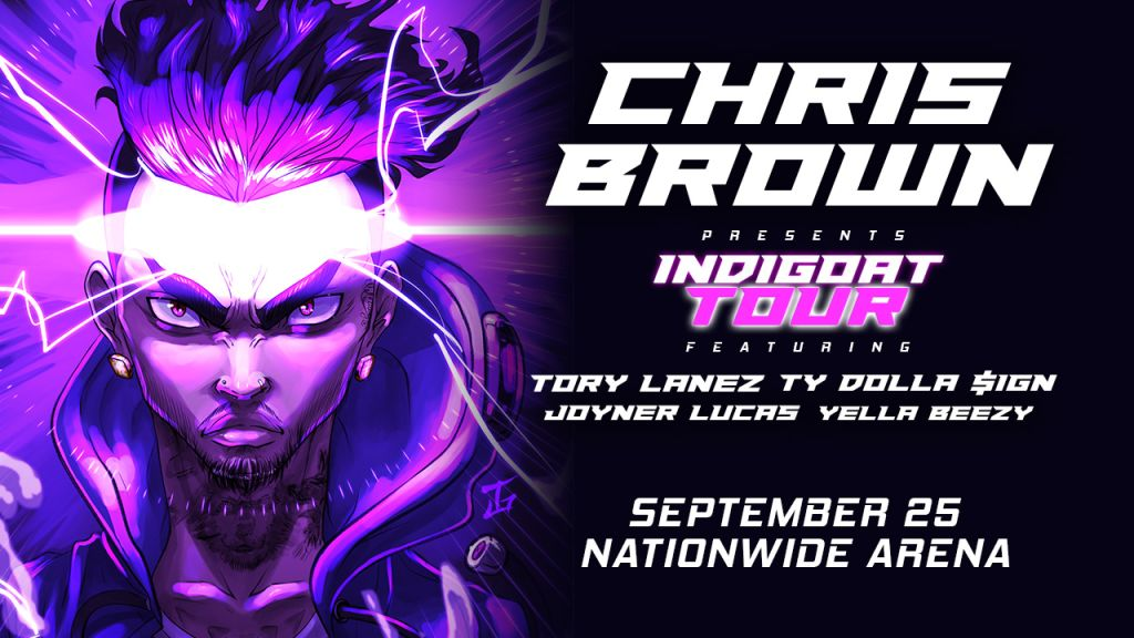 Chris Brown INDIGOAT Tour with Tory Lanez, Ty Dolla $ign