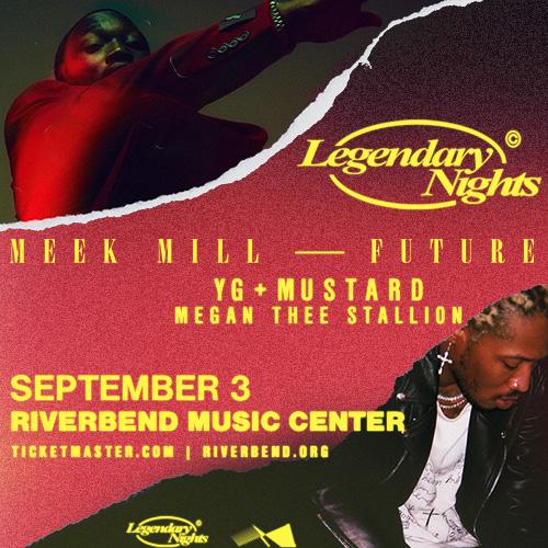 Meek Mill Future Legendary Nights Tour Cincinnati