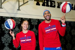 The Harlem Globetrotters UK tour promotion in London