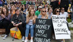 Teachers rally as the NUT holds national strike
