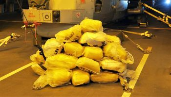 Royal Navy warship seizes tonnes of hashish in major Gulf drugs bust